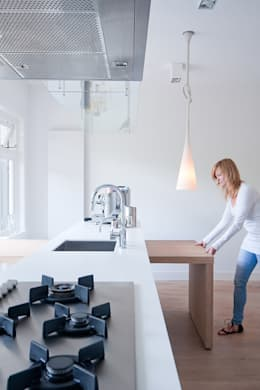 Woonhuis Utrecht: moderne Keuken door ontwerpplek, interieurarchitectuur