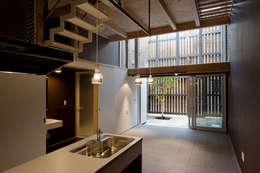 sora: 【快適健康環境+Design】森建築設計が手掛けたダイニングです。