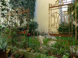 Innenhof im Gründerzeitlichen Wien: klassischer Garten von Ecowork