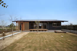 外観: 青木昌則建築研究所が手掛けた家です。