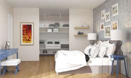modern Bedroom by ARTHUR&MILLER