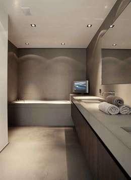 chatelain: Salle de bains de style  par Ensemble et associes