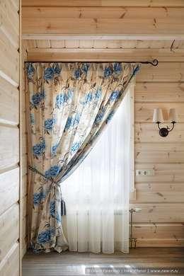 Honka, загородный дом для семьи из 6 человек: Спальни в . Автор – Ольга Кулекина - New Interior