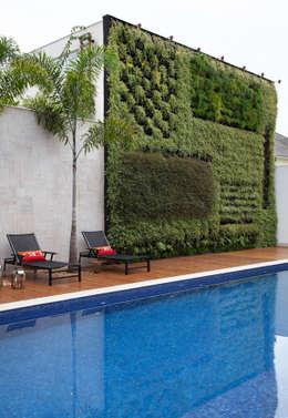 حديقة تنفيذ Arquitetura e Interior