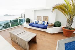 Terrace by Mayra Lopes Arquitetura | Interiores