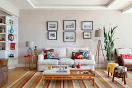 eclectic Living room by Da.Hora Arquitetura