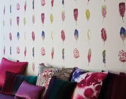 Tapeten der 70er의  벽 & 바닥
