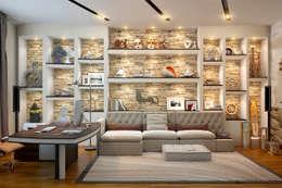 Домашний кабинет: Рабочие кабинеты в . Автор – Sweet Home Design