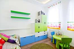 modern Nursery/kid's room by Lidia Sarad