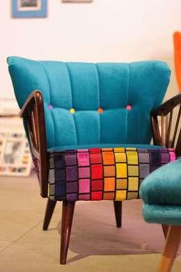غرفة المعيشة تنفيذ Juicy Colors