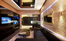Udesign Architecture – Fulya Daire: modern tarz Oturma Odası
