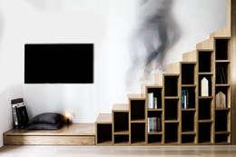 modern Living room by Studio Tenca & Associati