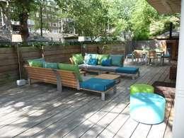 Balcones y terrazas de estilo moderno por Vormad - Sittingimage
