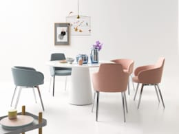 eclectic Dining room by Zimmermanns Kreatives Wohnen
