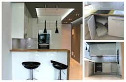 modern Kitchen تنفيذ Szafawawa