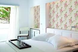 4 Duvar İthal Duvar Kağıtları & Parke – Uygulamalar: modern tarz Yatak Odası