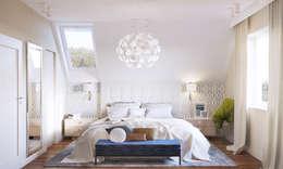 Habitaciones de estilo clásico por Finchstudio