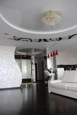 modern Living room by Студия интерьерного дизайна happy.design
