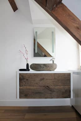 country Bathroom by Teakea