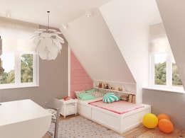 Детские комнаты в . Автор – Finchstudio