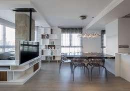 Comedores de estilo minimalista por LLIBERÓS SALVADOR Arquitectos