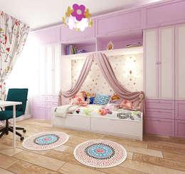 квартира на ул. Одесская: Детские комнаты в . Автор – ООО 'Студио-ТА'