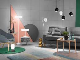 غرفة المعيشة تنفيذ ateljé Lyktan