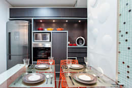 modern Kitchen by Amanda Pinheiro Design de interiores