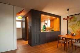 de estilo  por Bradley Van Der Straeten Architects