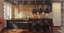 homify: modern tarz Yemek Odası