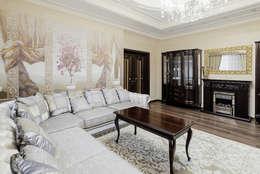 Дом в Дагомысе: Гостиная в . Автор – Креазон
