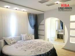 Hiba iç mimari ve dekorasyon – Ali Dablan Evi: modern tarz Oturma Odası