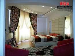 Спальни в . Автор – Hiba iç mimari ve dekorasyon