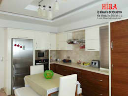 Hiba iç mimari ve dekorasyon – Ahmet Bilgin Evi: modern tarz Mutfak