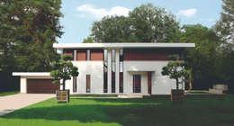 Villas de estilo  por Haacke Haus GmbH Co. KG