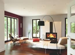 modern Living room by Haacke Haus GmbH Co. KG