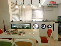 Cocinas de estilo moderno por Hiba iç mimari ve dekorasyon