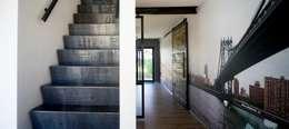 STAAAL: industriële Gang, hal & trappenhuis door Diem Metalstyling