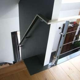 Vide hekwerk: industriële Gang, hal & trappenhuis door Diem Metalstyling