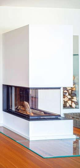 mediterranean Living room by Haacke Haus GmbH Co. KG