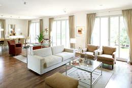 Haacke Haus GmbH Co. KG: klasik tarz tarz Oturma Odası