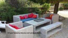 https://www.facebook.com/latelierdadri: Jardin de style de style eclectique par l'atelier d'adri