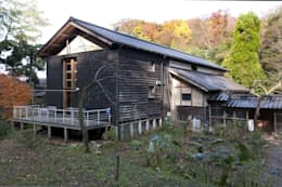 Maisons de style de stile Rural par 家山真建築研究室 Makoto Ieyama Architect Office