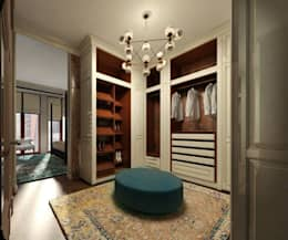 Closets de estilo  por KOSHKA INTERIORS