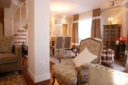 Decoración interior de duplex acogedor, Sube Susaeta Interiorismo - Sube Contract: Salones de estilo clásico de Sube Susaeta Interiorismo