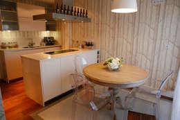 Decoración interior de duplex acogedor, Sube Susaeta Interiorismo - Sube Contract: Comedores de estilo clásico de Sube Susaeta Interiorismo