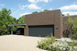 Stienestraat: moderne Huizen door Harold Laenen Architectuur