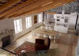 Comedores de estilo moderno por M A+D Menzo Architettura+Design