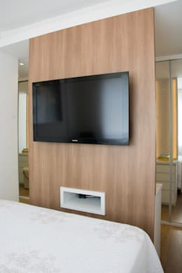 Dormitorios de estilo minimalista por Bibiana Menegaz - Arquitetura de Atmosfera