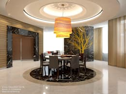 modern Dining room by ART-INTERNO